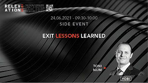 Exit : Lessons learned