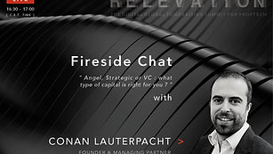 Angel, Strategic or VC : What type of capital is right for you ? - Fireside Chat with Conan Lauterpacht (M7 Structura)