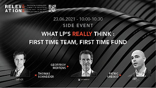 What LP's really think : First time team, first time fund