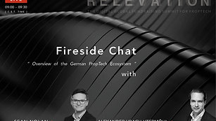Overview of German PropTech ecosystem - Fireside Chat with Alexander Ubach-Utermohl (GPTI) and Sean Nolan (Blackprint)