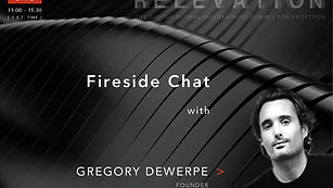 Fireside Chat with Gregory Dewerpe (A/O PropTech)