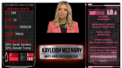 "Kayleigh ""Smackdown"" McEnany"