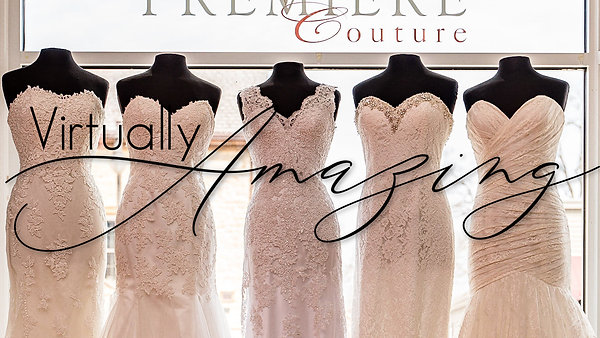 Virtually Amazing:  Wedding Dress Sale