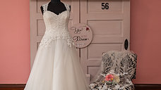 Dress 56 Lace and Tulle A-Line Wedding Dress