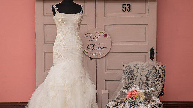 Dress 53 Tulle and Lace Mermaid Wedding Dress