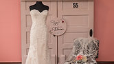 Dress 55 Strapless Lace Narrow Fitted Wedding Dress