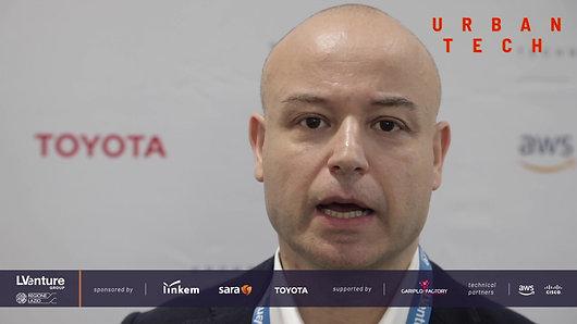 Donato Santoro, Head of Innovation Digital & Mobility Toyota