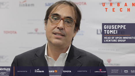 Giuseppe Tomei, Head of Open Innovation LVenture Group