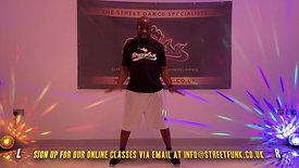 'Kolom' routine by Streetfunk's founder JP Omari