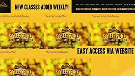 Streetfunk - Online Dance Classes