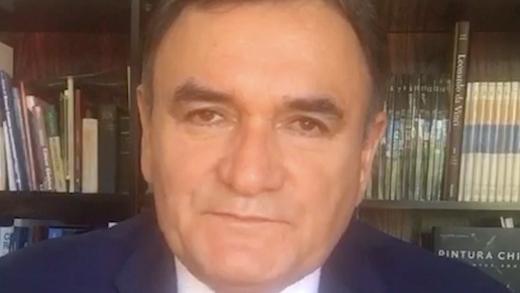 Dr. Jorge Gallardo E., Oncólogo