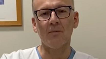 Dr. Juan Manuel O´Connor - Oncologo, I.A. Fleming, Argentina