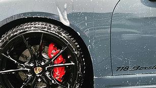 Porsche Boxter S front end PPF, minor correction & Kamikaze Zepang ceramic coating