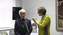 """Выставка """"Учитель и ученики"""" в галерее г Петушки"""