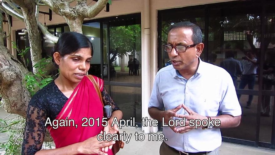 Testimony From Sri Lanka