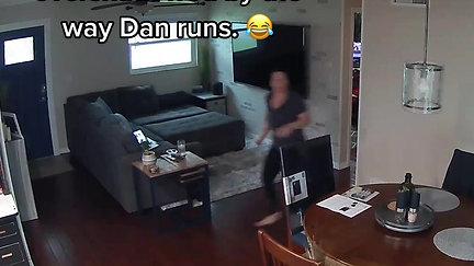 Dan's tornado run.