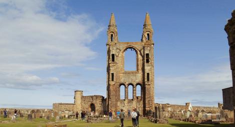 Tour Stirling, Destilería y St. Andrews