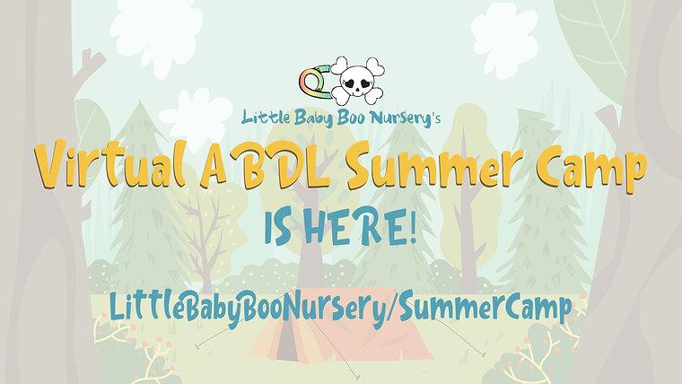 Virtual ABDL Summer Camp 2020