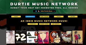 Indie Music Promo, Live on Durtie Music Radio