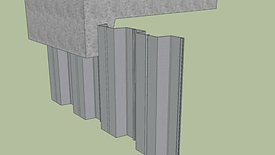 塑鋼板樁模型1