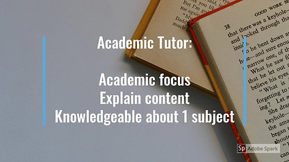 What is the Difference Between a Coach and a Tutor?