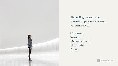 The College Transition for Parents - You Are Not Alone