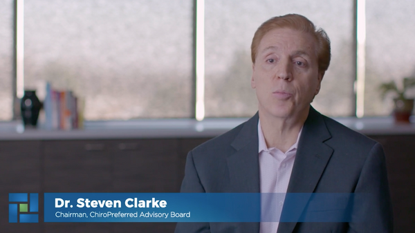 Dr. Clarke explains why he chose ChiroPreferred by MedPro Group