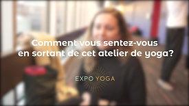 EXPO YOGA VoxPop Agathe