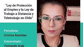 Entrevista con Fernando Arab, Subsecretario del Trabajo Chile