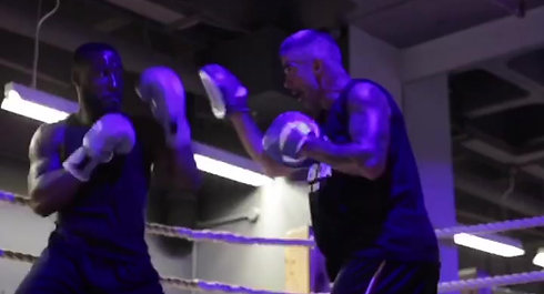 Training for my upcoming fight