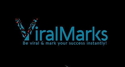 viral logo animated