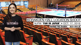 BEHIND THE SCENES: NJPW KORAKUEN HALL