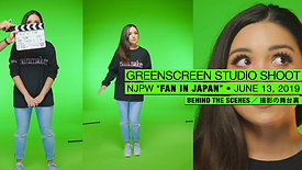 BEHIND THE SCENES: NJPW GREENSCREEN SHOOT