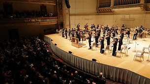Kyodo News: Fukushima Youth Sinfonietta in Boston Symphony Hall (2016)