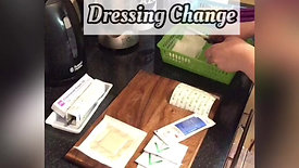 G-Button Dressing Change Preperation