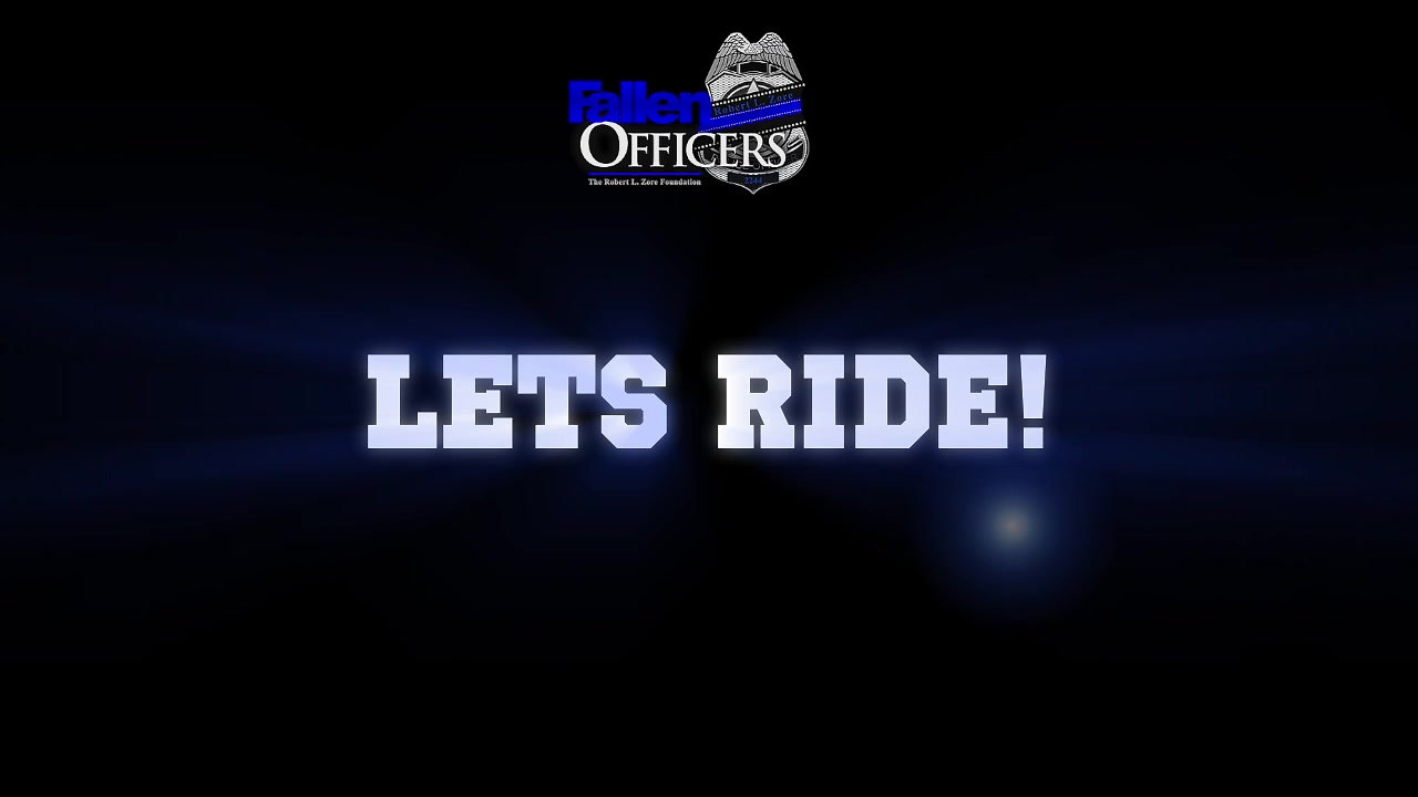 Riding For The Blue