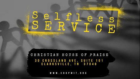 Selfless Service