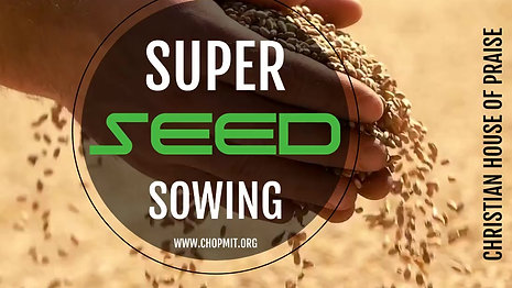 Super Seed Sowing
