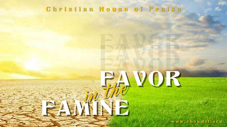 Favor in the Famine