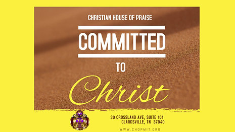 Commited to Christ