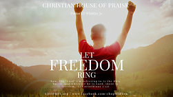 """Let Freedom Ring"""