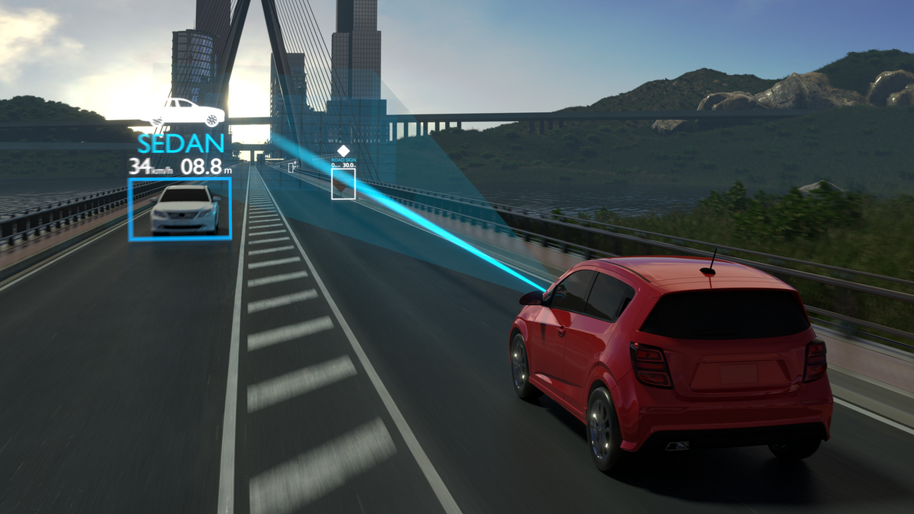 Beamsteering Radar for Safe Automated Driving