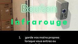 Bouton infrarouge