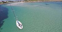 Retour au port d'Audierne voilier Atlantis