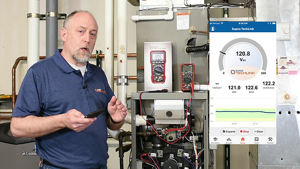 Supco®-Redfish iDVM 510 Wireless Multimeter powered by Supco® Techlink™ App