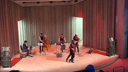 Performing with Pedro Giraudo Tango quartet, at the Hudson River Museum