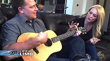 Jewel Teaches Jonathan How to Play Guitar with his New Hand