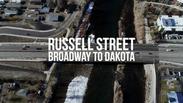 Russell Street - Broadway to Dakota