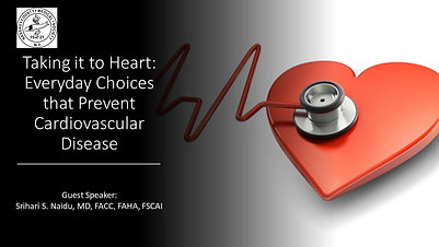 Taking it to Heart: Everyday Choices that Prevent Cardiovascular Disease