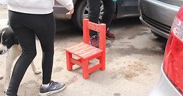 Día de las Buenas Acciones - entrega sillitas